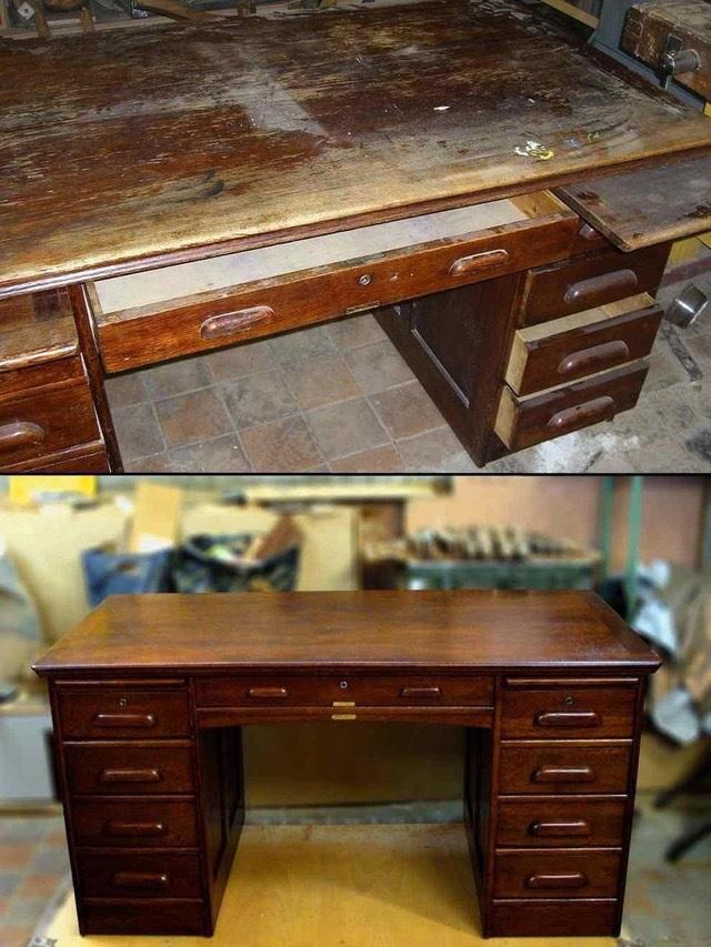 Реставрация дерева мебели своими руками
